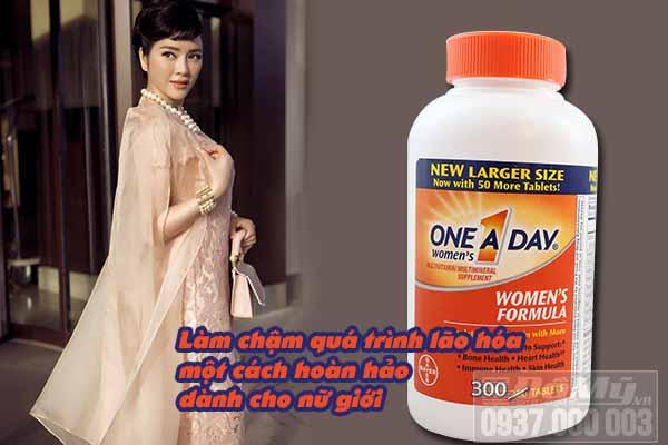 Công dụng của thuốc one a day women's đối với phụ nữ tuổi 30
