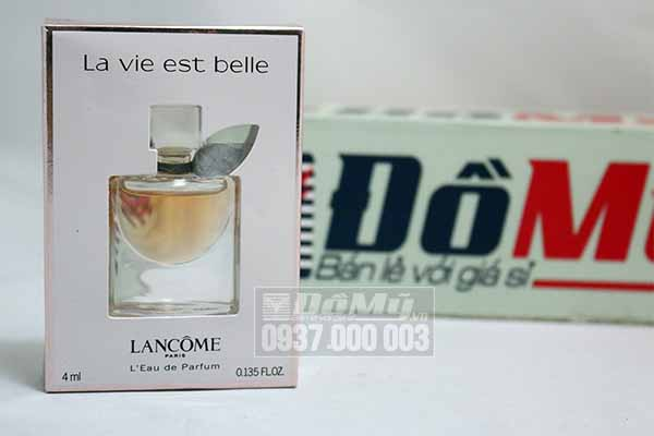 Nước hoa nữ Lancôme La Vie Est Belle 4ml