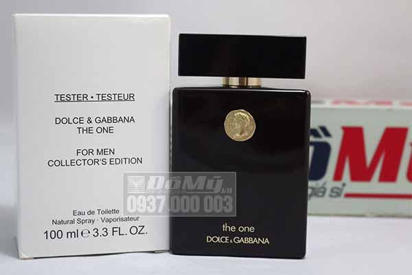 Nước hoa Dolce & Gabbana the One For Men 100ml - Tester