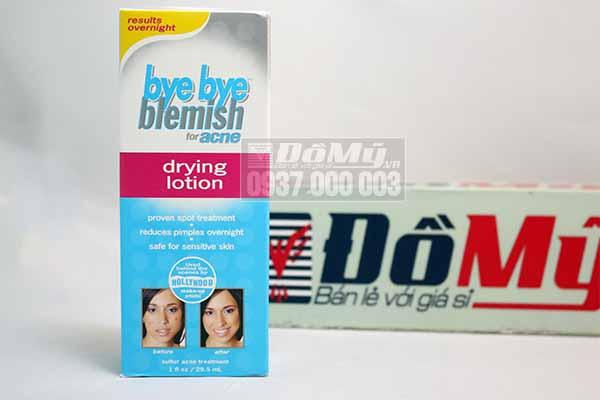 Lotion làm khô nhân mụn Bye Bye Blemish For Acne