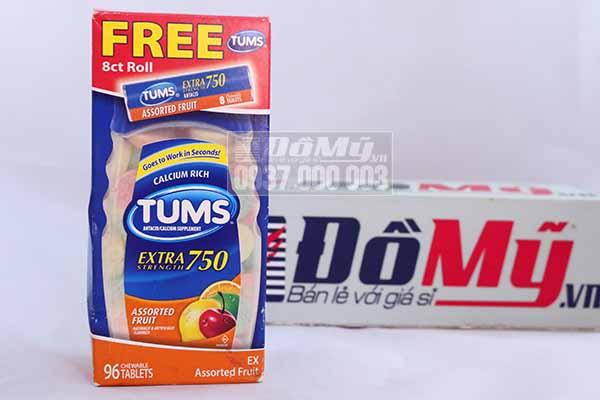 TUMS Extra Strength 750, 90 viên