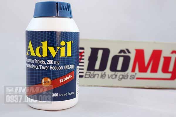 Viên uống Trị Đau Nhức Advil 360 viên của Mỹ