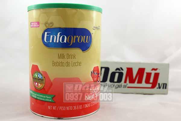 Sữa Enfagrow Older Toddler Vanilla số 3 của Mỹ 1.04kg dành cho bé 1-3 tuổi