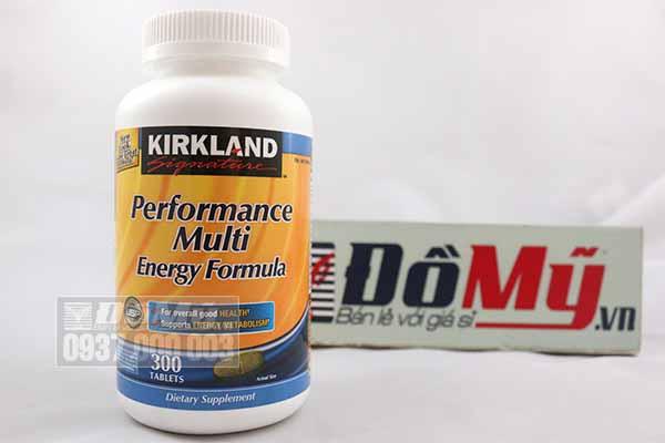 Vitamin tổng hợp Kirkland Signature™ PERFORMANCE MULTI ENERGY FORMULA - Hộp 300 viên – Mỹ