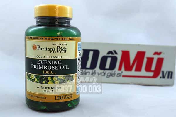 Tinh dầu Hoa Anh Thảo Evening Primrose Oil 1000mg 120 viên Mỹ