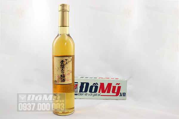Rượu mơ vảy vàng Kikkoman của Nhật Bản loại 500ml