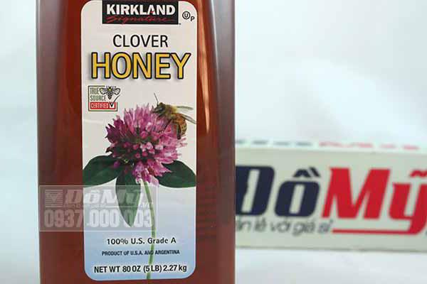 Mật ong Kirkland Clover Mỹ 2.27kg