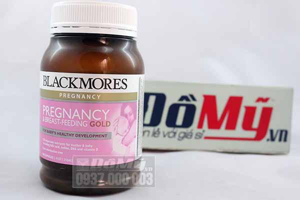Thuốc bổ bà bầu Úc Blackmores Pregnancy & Breast Feeding Gold (180 viên)
