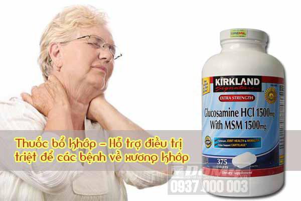Thực phẩm chức năng - Hỗ trợ điều trị xương khớp Glucosamine 375 viên
