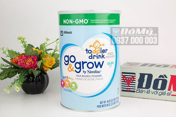 Sữa Similac Go & Grow Non – GMO Toolder Drink dành cho bé 12 – 24 tháng 1.13kg của Mỹ
