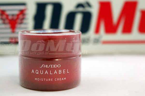 Kem dưỡng trắng da collagen Shiseido Aqualabel - Nhật