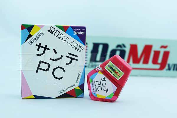 Thuốc nhỏ mắt Santen PC chống tia bức xạ của Nhật Bản