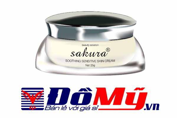 Kem dưỡng dành cho da mặt nhạy cảm Sakura Soothing Sensitive Skin Cream