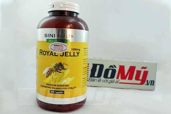 Sữa Ong Chúa Úc Sini Health Royal Jelly 365 Viên x 1000mg