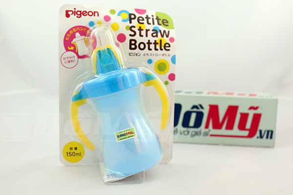 Bình nước Petite Straw Bottle của Pigeon