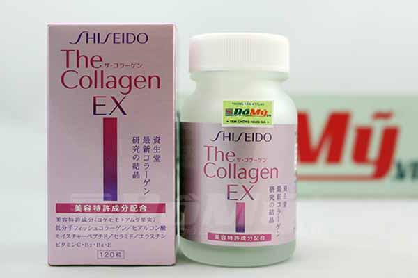 Viên uống đẹp da Shiseido The Collagen EX 120 viên của Nhật Bản