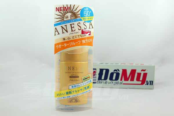 Kem chống nắng Shiseido Anessa SPF50+ chai 60ml của Nhâ Bản