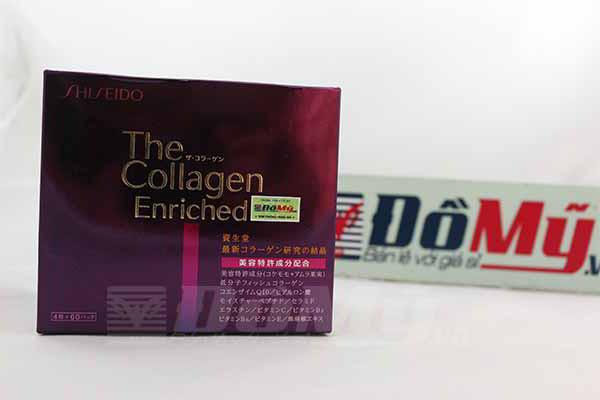 Viên uống Shiseido The Collagen Enriched 60 gói của Nhật Bản