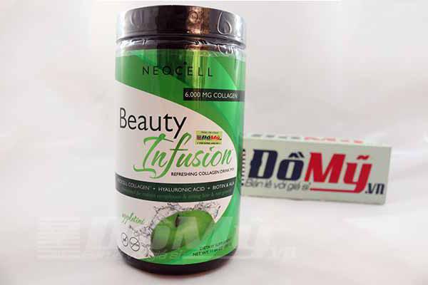 Neocell Collagen Beauty Infusion Hương Táo 450g của Mỹ