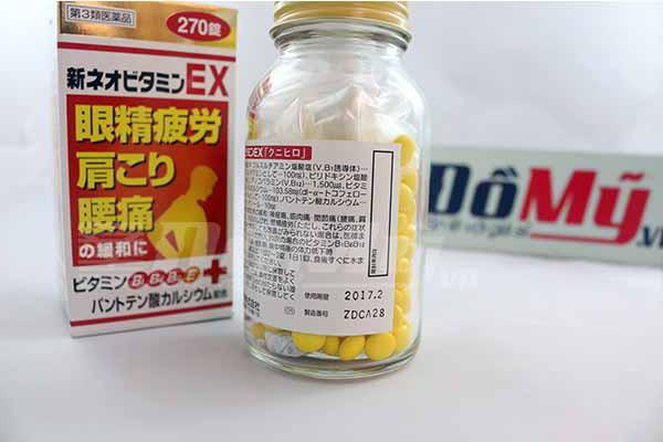 Thuốc giảm đau EX 240 Viên Nhật Bản 3