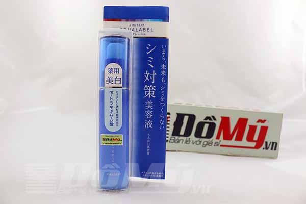 Serum huyết thanh dưỡng trắng da Aqualabel Bright White EX 45ml của Nhật Bản