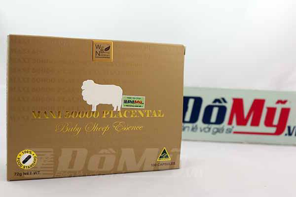 Nhau thai cừu maxi 50000 Placental Baby Sheep Essence