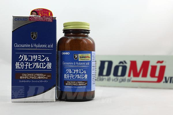 Viên uống bổ khớp - chống lão hóa Glucosamine & Hyaluronic acid Nhật Bản