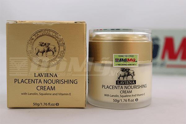 Kem dưỡng da nhau thai cừu Placenta Nourishing Cream Laviena