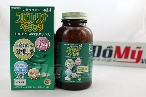 Tảo xanh Spirulina đến từ Nhật Bản