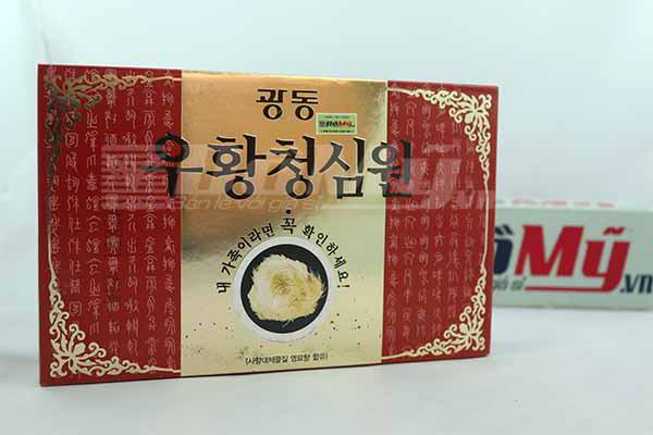 An Cung Ngưu Hoàng Hàn Quốc hộp Đỏ 10 Viên