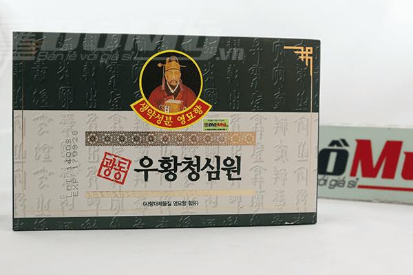 An Cung Ngưu Hoàng Hàn Quốc - Hộp Xanh 10 Viên
