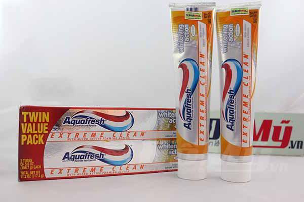 Kem đánh răng Aquafresh Extreme Clean nhập khẩu từ Mỹ loại 158.7g