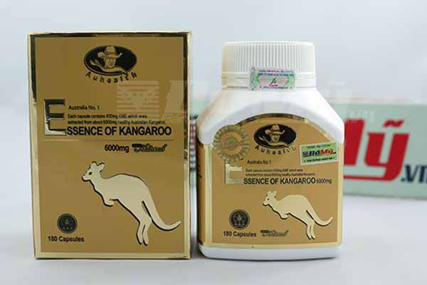 Viên Uống Tăng Cường Sinh Lý Essence Of Kangaroo Auhealth 6000mg x 180 Viên
