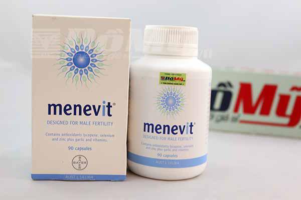 Viên uống Menevit 90 viên của Úc - hỗ trợ sinh sản dành cho nam giới