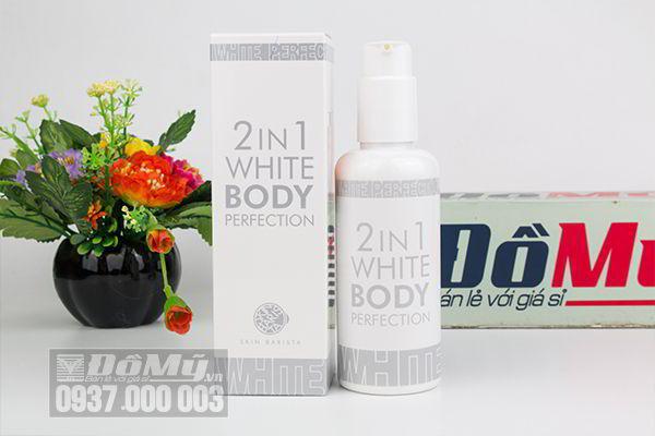 Dưỡng thể trắng da Skin Barista 2 in 1 White Body Perfection 150ml của Hàn Quốc