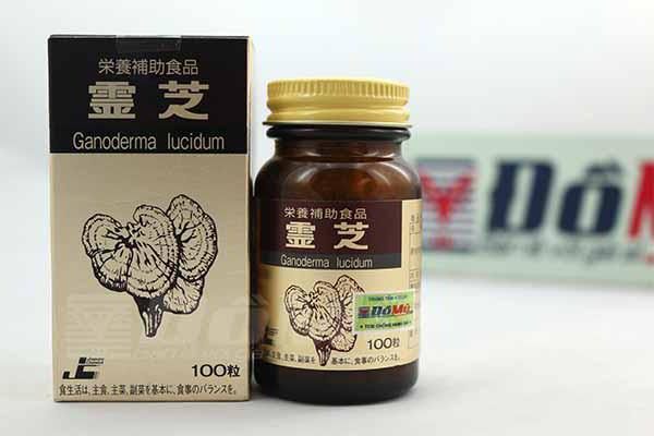 Viên uống Nấm linh chi Nhật Bản