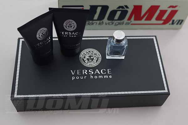 Bộ Nước hoa Versace Pour Homme for Men