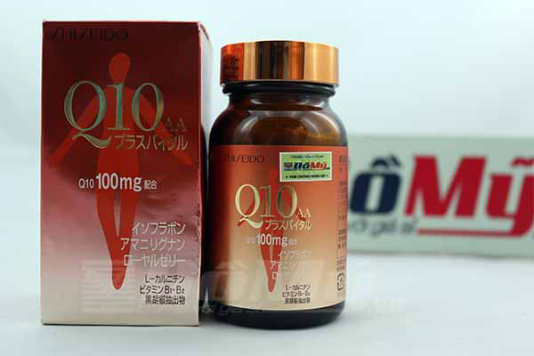 Viên uống trị nám, chống nhăn và làm đẹp da Q10 Shiseido hộp 60 viên của Nhật Bản