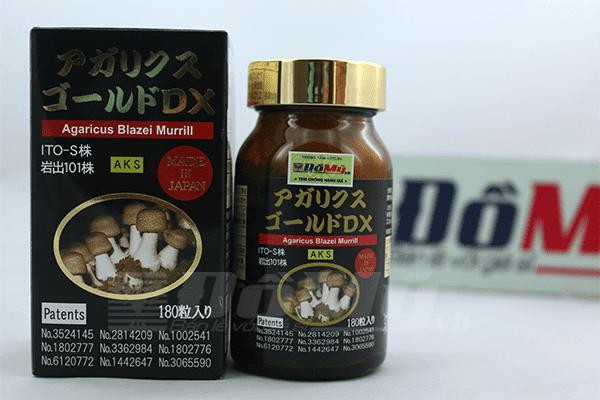 Viên uống nấm Agaricus Blazei Murill Nhật Bản