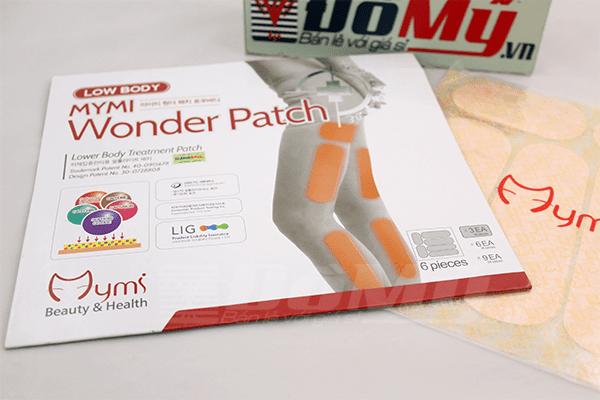Miếng dán tan mỡ Wonder Patch Hàn Quốc