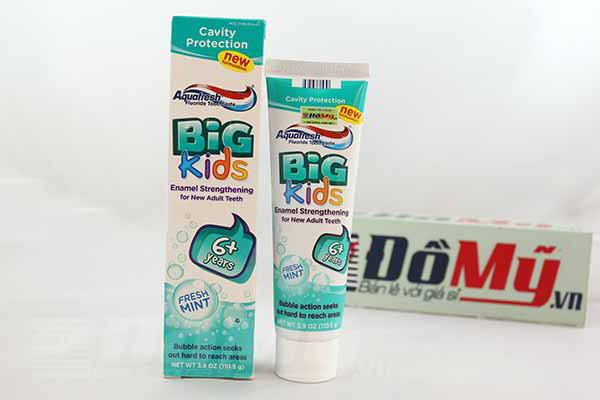 Aquafresh Big Kids 110g kem đánh răng dành cho trẻ từ 6 tuổi