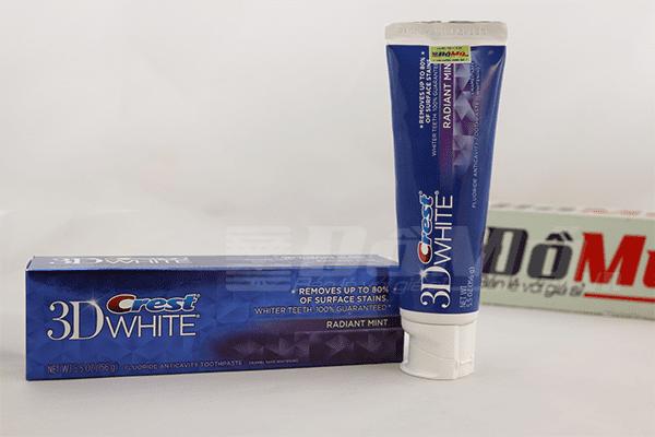 Kem đánh răng Crest 3D White Advanced 164gr - Mỹ