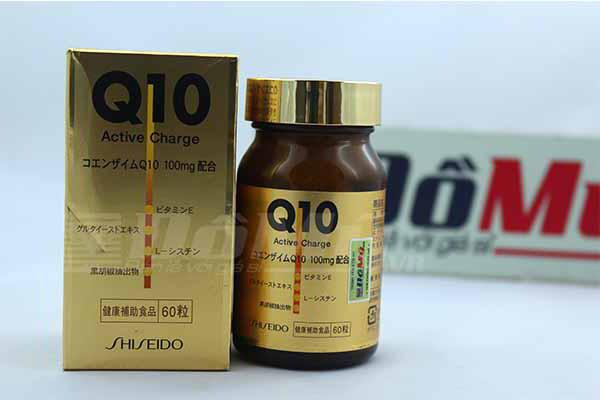 Viên dưỡng da Q10 Active Charge Shiseido 60 viên - Nhật