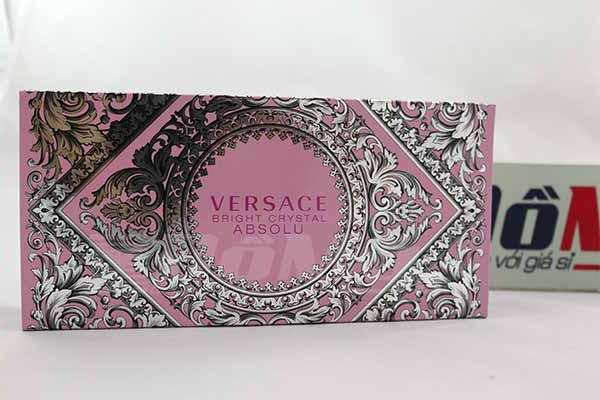 Bộ Nước Hoa Versace Bright Crystal Absolu for Woman