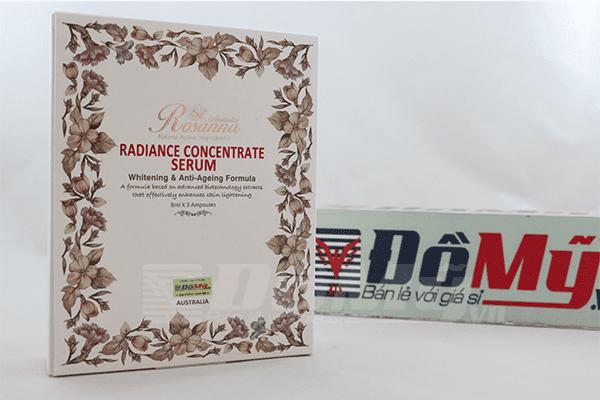 Tinh chất nhau thai cừu Radiance Concentrate Rosanna của Úc
