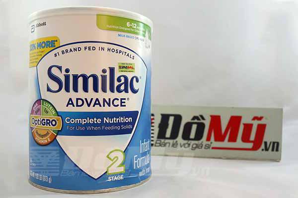 Sữa Similac Advance cho bé từ 6-12 tháng 873g của Mỹ