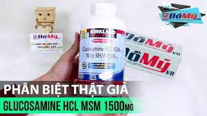 Cảnh báo tràn lan hàng giả thuốc bổ khớp Glucosamine của Mỹ