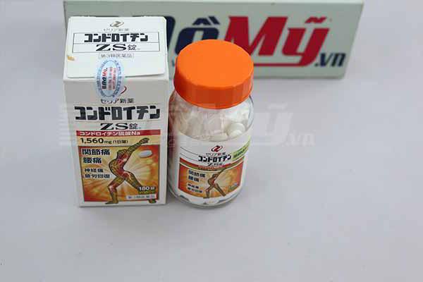 Viên uống trị đau khớp của nhật zs chondroitin có tác dụng gì