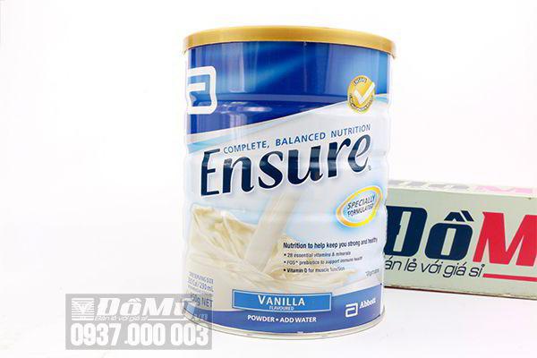 Sữa bột Ensure Powder Vanilla 850g của Úc