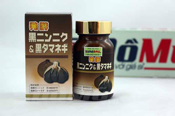 Viên nang tinh chất hành đen và tỏi đen Black Gralic & Onion Oil